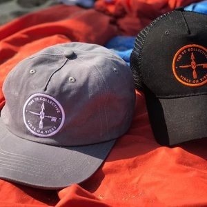 SD Collective Mercantile Accessories - BRAND NEW grey unstructured SnapBack surf dad hat